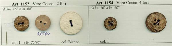 36 - Bottoni in Vero Cocco