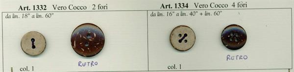 37 - Bottoni in Vero Cocco