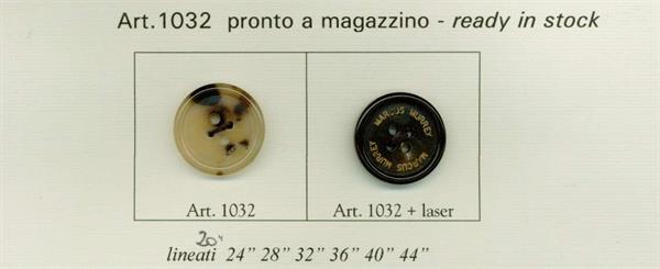 42 - Bottoni in vero Corno art.1032 dal lin.20 al lin.44