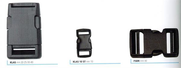 34cf962b71 03 - Fibbie in nylon a scatto per zaini e borse sportive