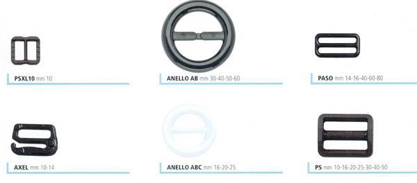 23c3865532 08 - Passanti e anelli in nylon per zaini e borse sportive