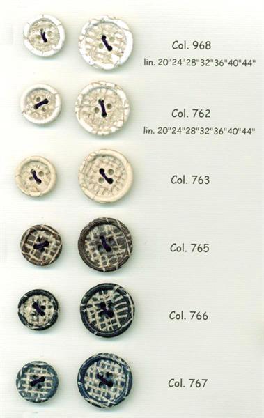 01 - bottoni in polyestere effetto juta art.1168